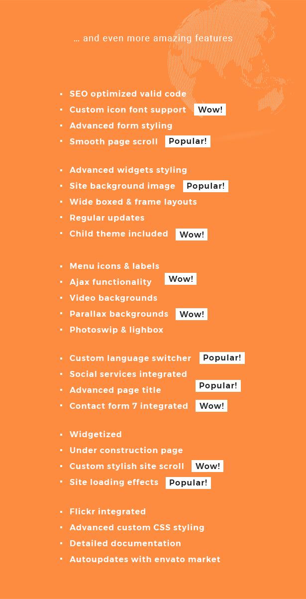 Globax - Logistics WordPress Theme + Woocommerce - 17