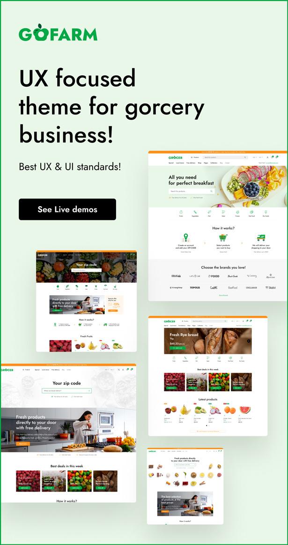 Gofarm - Grocery WooCommerce WordPress Theme - 1