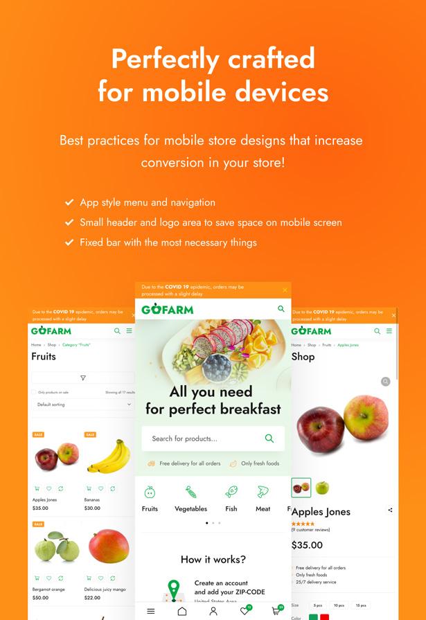Gofarm - Grocery WooCommerce WordPress Theme - 4