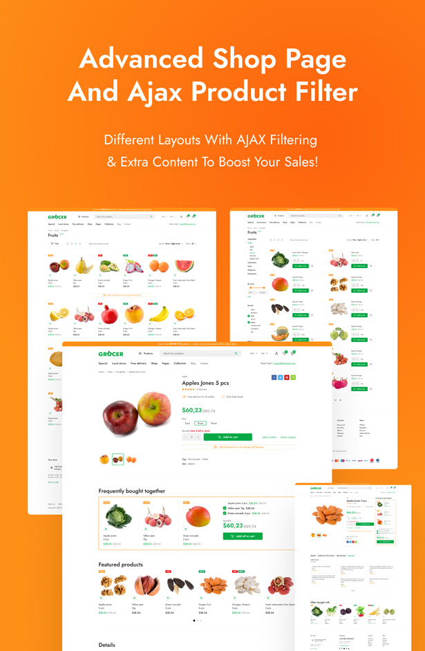 Gofarm - Grocery WooCommerce WordPress Theme - 5