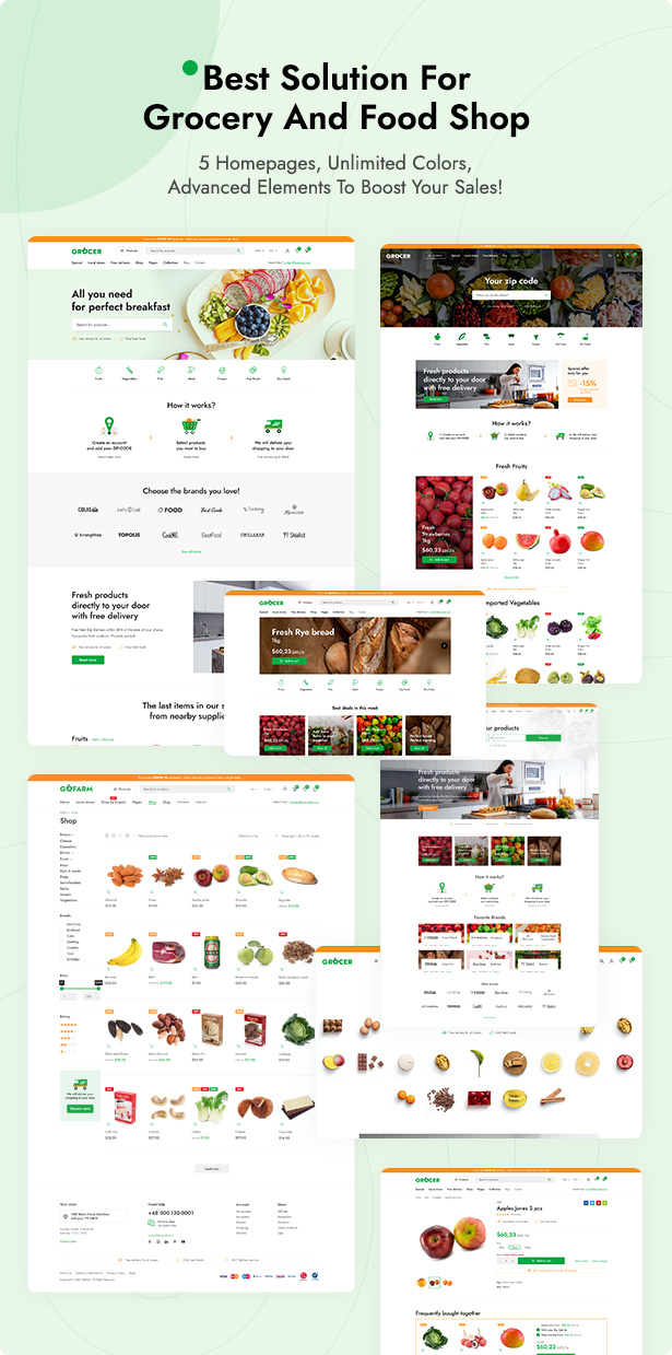 Grocer - Grocery Store and Food WooCommerce WordPress Theme - 2