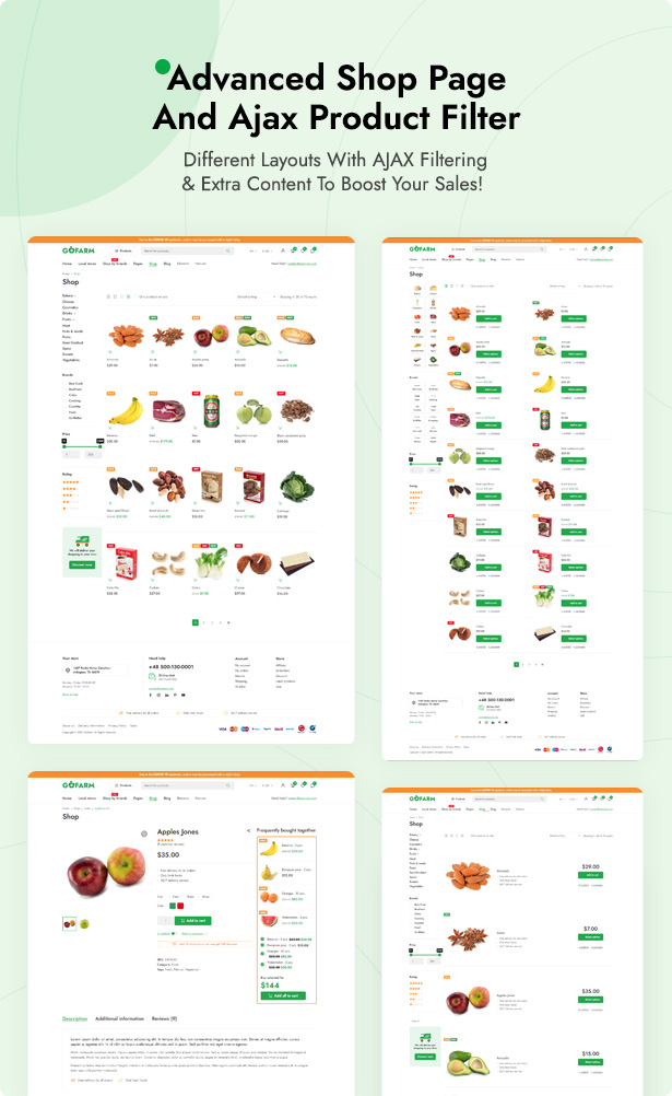 Grocer - Grocery Store and Food WooCommerce WordPress Theme - 4