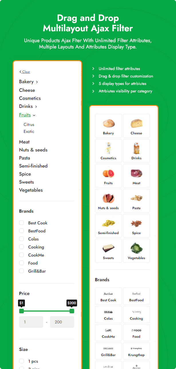 Grocer - Grocery Store and Food WooCommerce WordPress Theme - 5