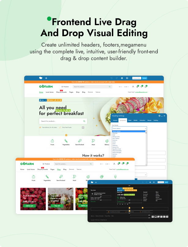 Grocer - Grocery Store and Food WooCommerce WordPress Theme - 7