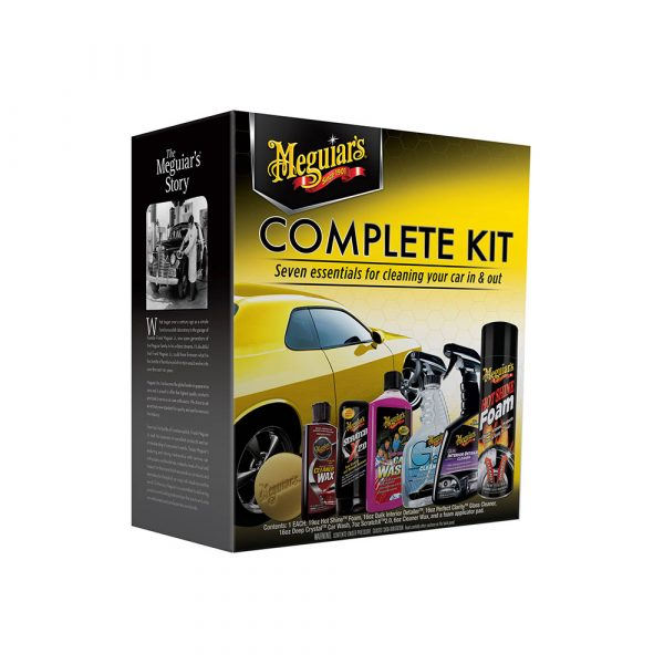Meguiar?s? Complete Car Care Kit ? Essential Detailing Kit – G19900