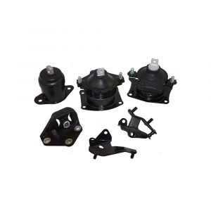6 Piece Set of Engine & Transmission Motor Mounts Replacement for Honda Accord 2.4L Automatic Transmission 50870SDAA02