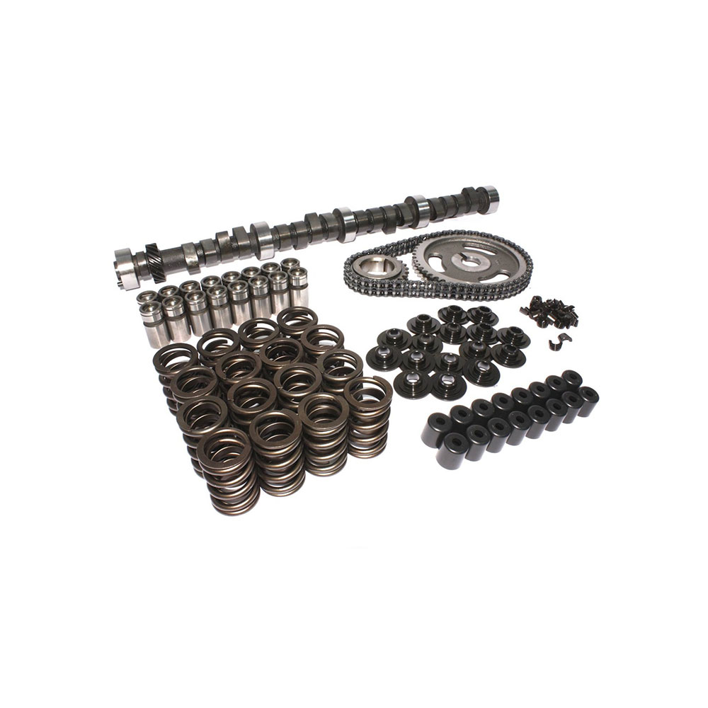 Chevy 305 327 350 400 Ultimate Cam Kit - 254264 Duration- High Torque+  Hardened Push rods (420443 Lift Cam)