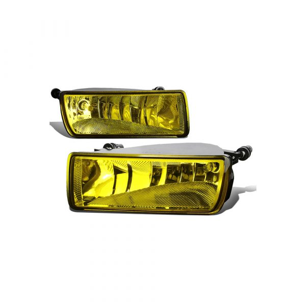 For 06-10 Explorer Sport Trac Pair Front Bumper Driving Fog LightLamps Amber Lens 07 08 09 Left+Right