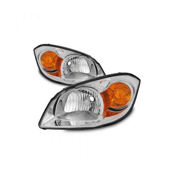 Fit 2005-2010 Chevy Cobalt 07-10 G5 05-06 Pursuit Headlights Replacement L+R