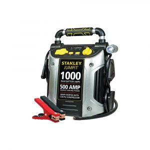 STANLEY 1000500 Amp Jump Starter w120 PSI Compressor (J5C09)