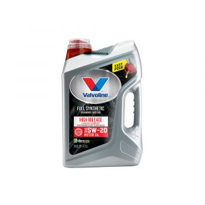 Valvoline Full Synthetic High Mileage with MaxLife Technology SAE 5W-20 Motor Oil – Easy Pour 5 Quart