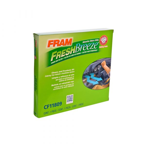 FRAM Fresh Breeze Cabin Air Filter, CF11809