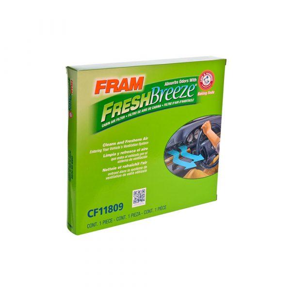 FRAM Fresh Breeze Cabin Air Filter, CF11809