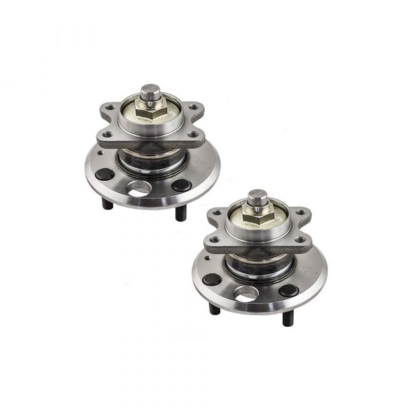 Pair of Rear Wheel Hub Bearings Replacement for Hyundai Kia 5273038002