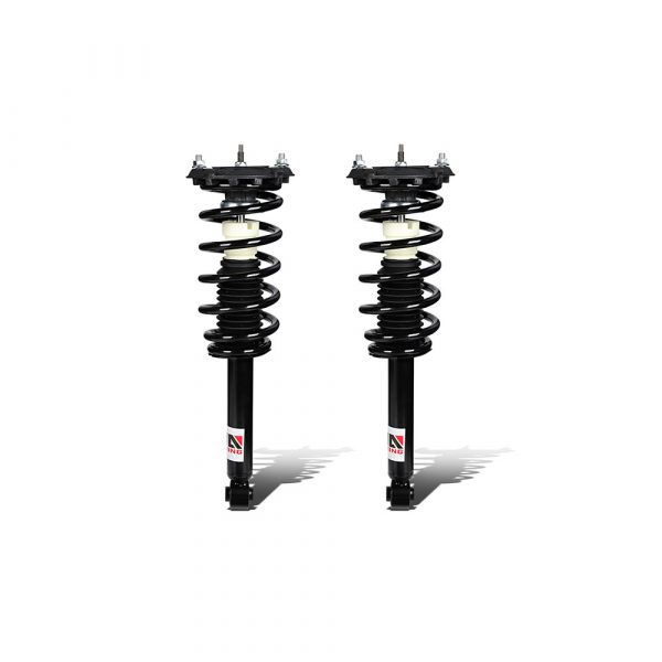 LeftRight Rear Fully Assembled Shock  Strut + Coil Spring Suspension
